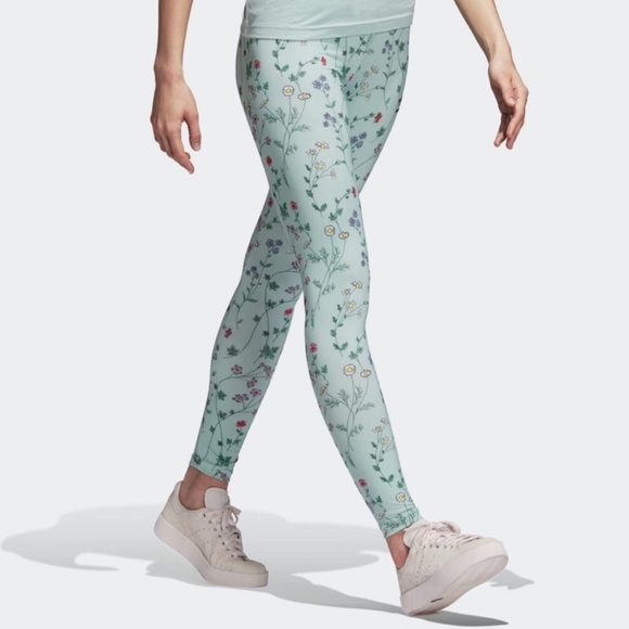 ef0243460ae adidas Pants | Price Firm Leggings Love Revolution Floral | Poshmark